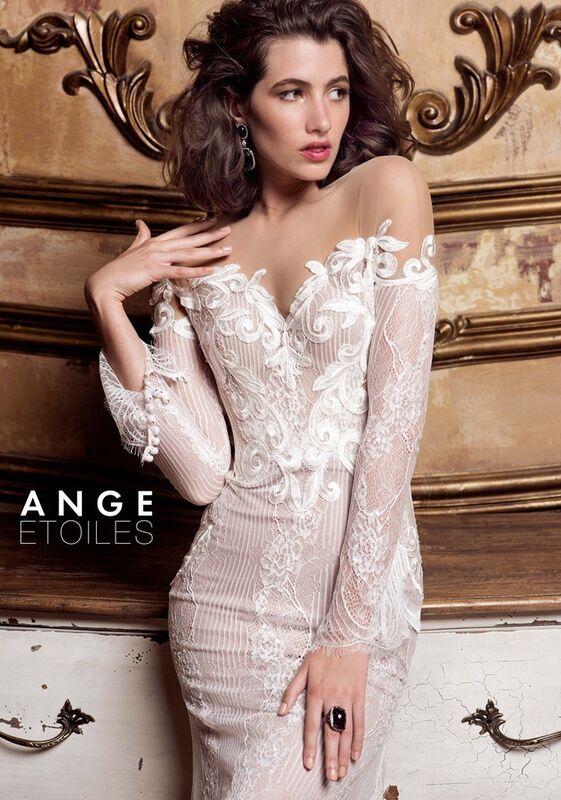 Свадебное платье напрокат Ange Etoiles Платье свадебное Charm 2017 Sofi - фото 1