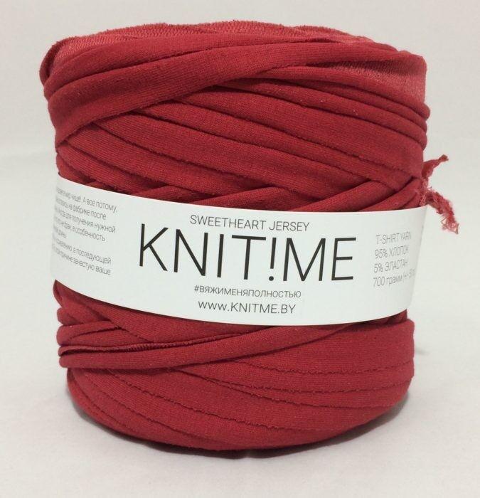 Товар для рукоделия Knit!Me Ленточная пряжа Sweetheart Jersey - SJ409 - фото 1