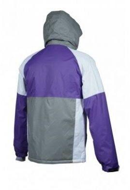 Спортивная одежда Free Flight Мужская мембранная горнолыжная куртка фиолетовая - фото 2