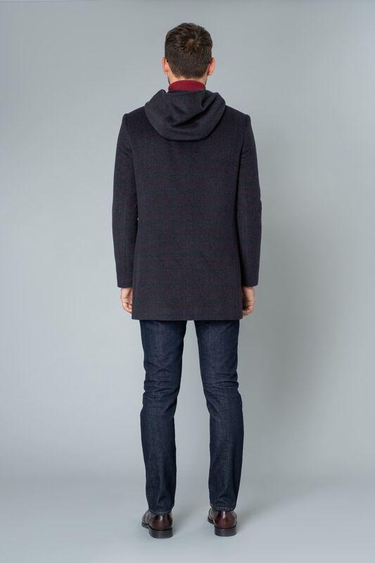 Верхняя одежда мужская Etelier Пальто мужское демисезонное 1М-8754-1 - фото 3