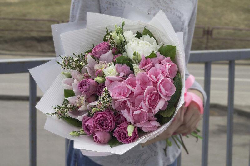 Магазин цветов Cvetok.by Букет «Экзотический сад» - фото 1