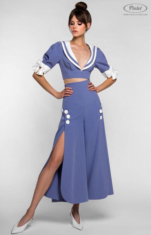 Костюм женский Pintel™ Комплект из болеро и брюк YANELLY - фото 1