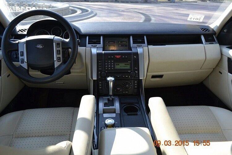 Прокат авто Range Rover Sport бордового цвета - фото 5