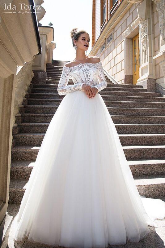 Свадебный салон Ida Torez Платье свадебное Ophelia - фото 1