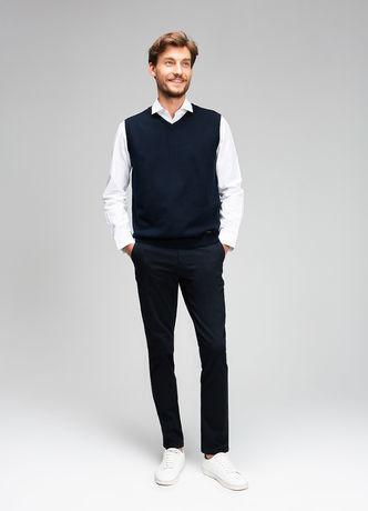 Пиджак, жакет, жилетка мужские O'stin Базовый мужской жилет MK6V43-69 - фото 2