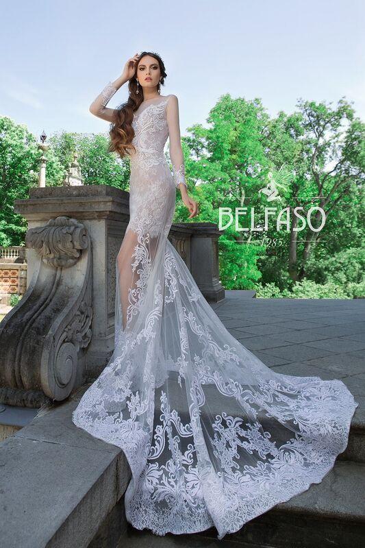 Свадебный салон Belfaso Свадебное платье Rami - фото 6