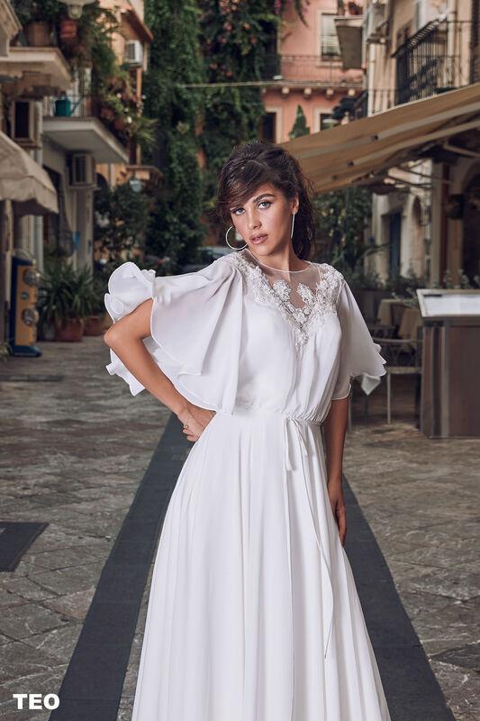 Свадебный салон Bonjour Galerie Свадебное платье TEO из коллекции BELLA SICILIA - фото 1