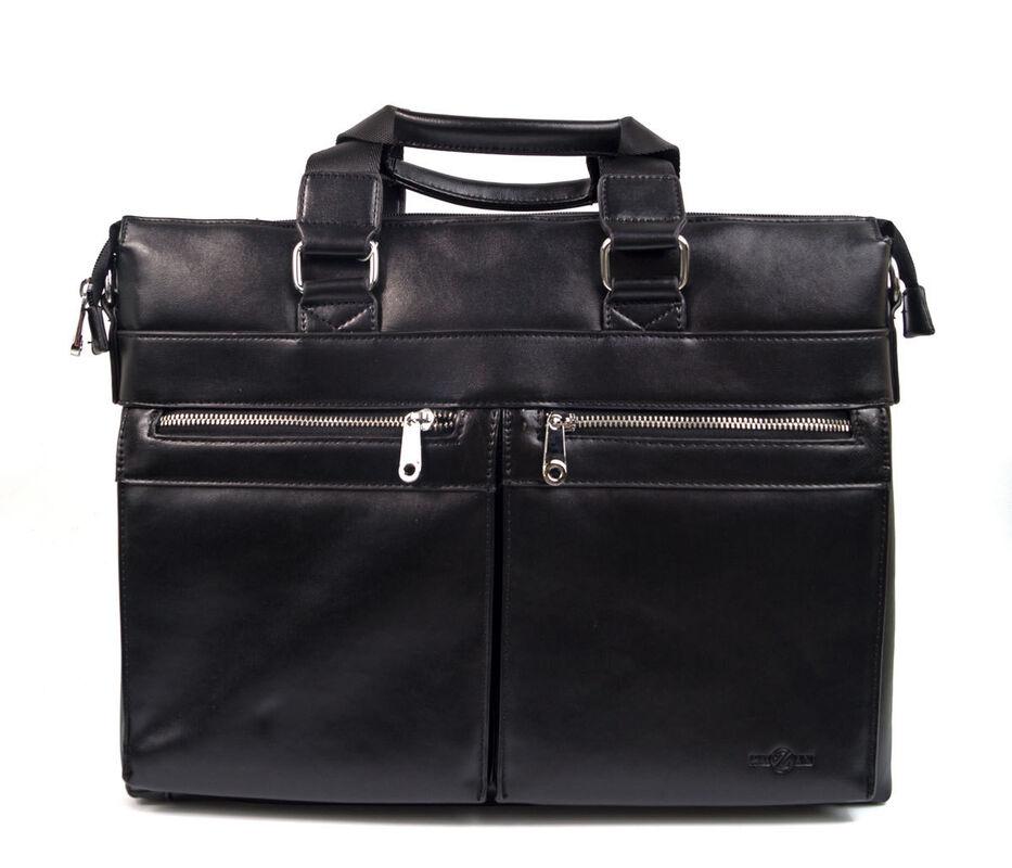 Магазин сумок Rozan Мужская сумка черная 1076 - фото 1