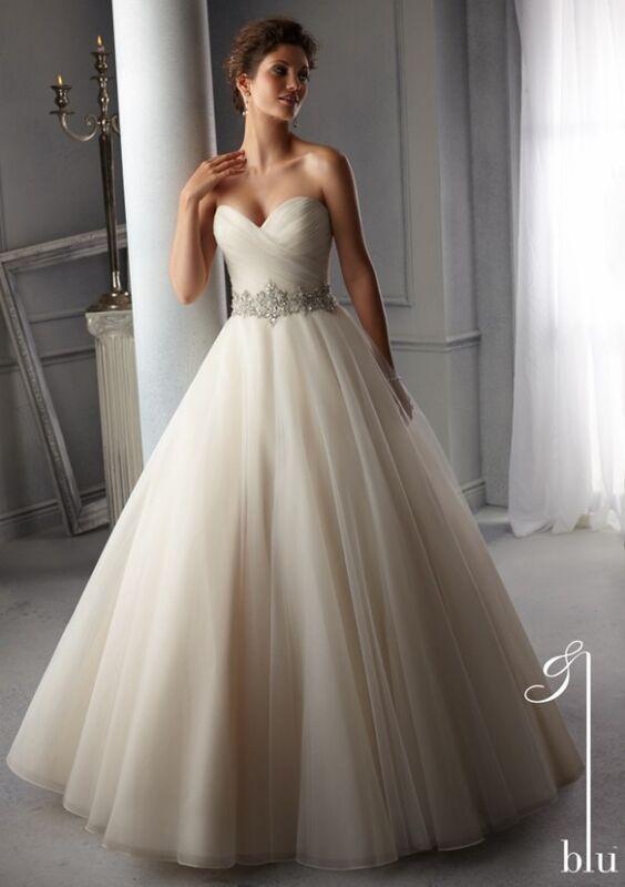 Свадебное платье напрокат Mori Lee Платье свадебное Blu 5276 - фото 1