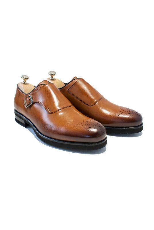 Обувь мужская HISTORIA Туфли мужские, монки, с одной застежкй - фото 1