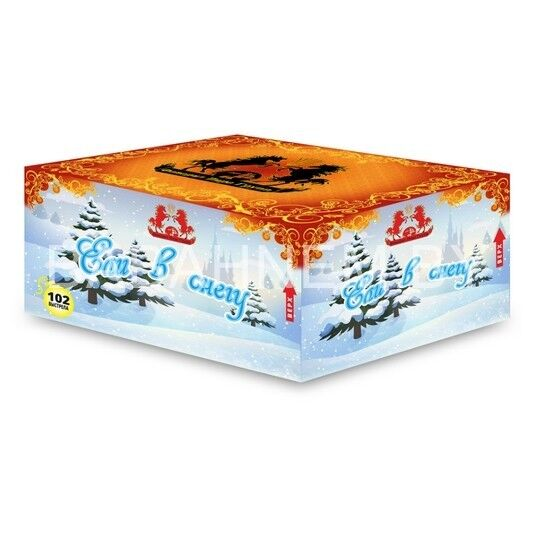 Фейерверк ТК сервис Фейерверк «Ели в снегу» FP-B214 - фото 1