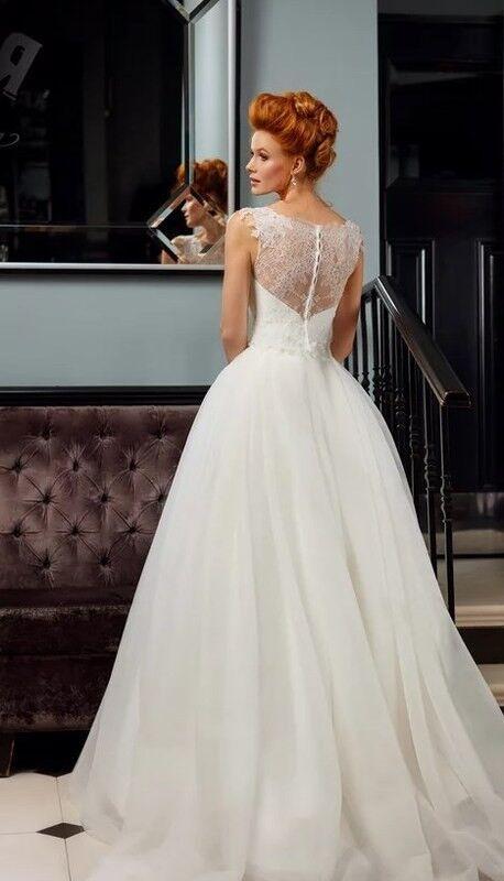 Свадебное платье напрокат Edelweis Платье свадебное «Narcisse» - фото 2