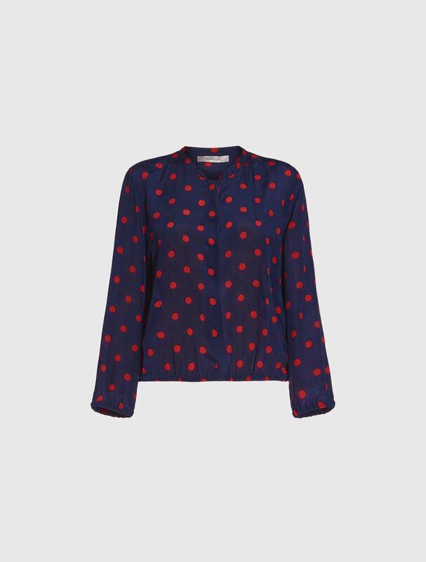 Кофта, блузка, футболка женская Marella Блузон Good 3191147102003 - фото 4