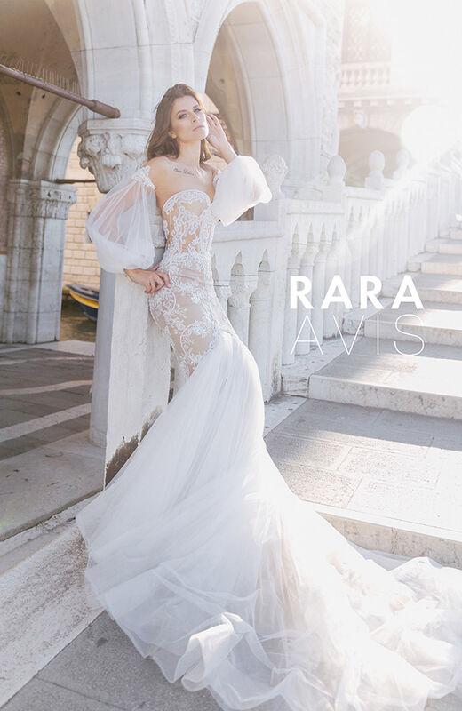 Свадебное платье напрокат Rara Avis Свадебное платье Flyteria - фото 2