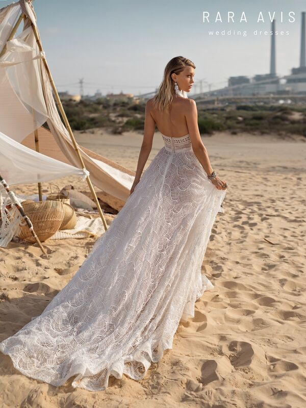 Свадебное платье напрокат Rara Avis Свадебное платье Wild Soul Klays - фото 3