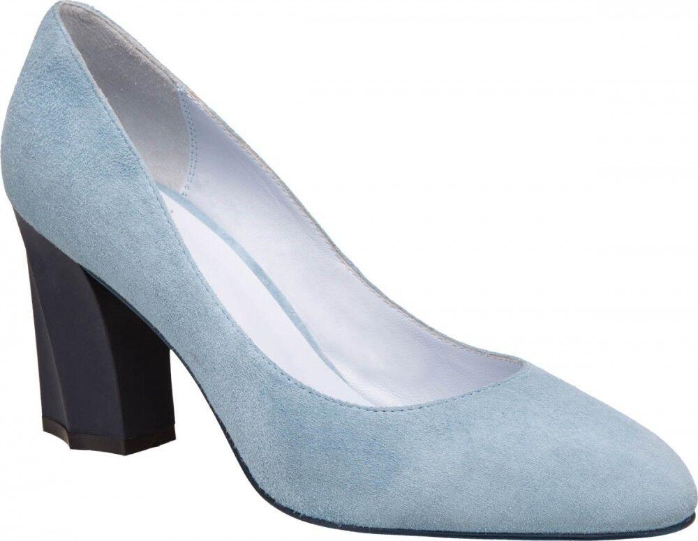 Обувь женская Ekonika Туфли женские 1476-01 blue - фото 1