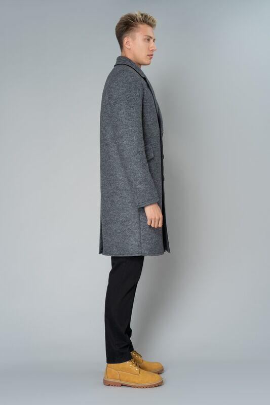 Верхняя одежда мужская Etelier Пальто мужское утепленное 6М-9103-1 - фото 3