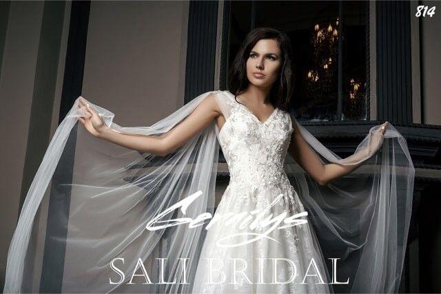 Свадебный салон Sali Bridal Свадебное платье 814 - фото 3