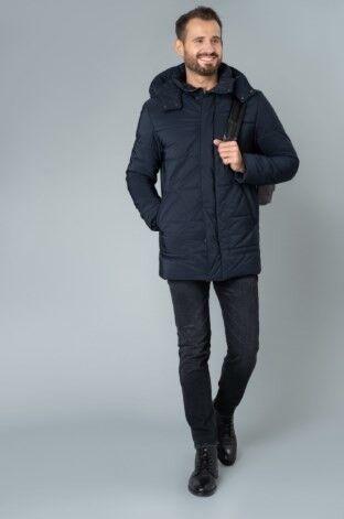 Верхняя одежда мужская Etelier Куртка мужская плащевая утепленная 4М-8628-1 - фото 2