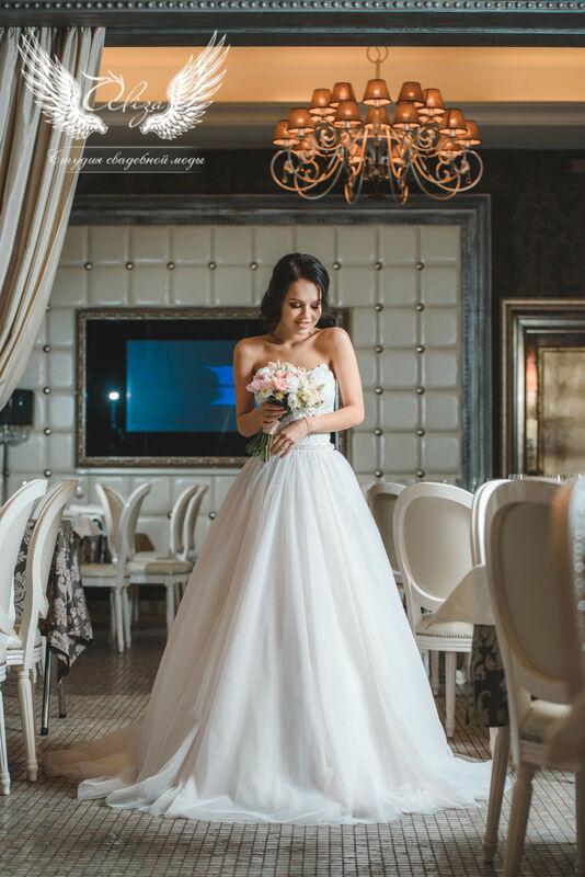 Свадебный салон ALIZA Платье свадебное «Samanta» Ameli Benya - фото 1