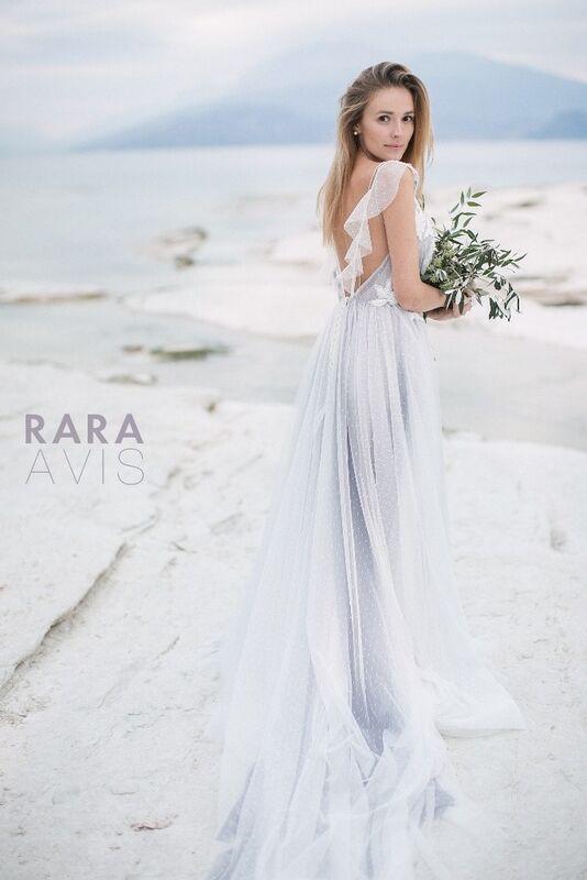 Свадебное платье напрокат Rara Avis Свадебное платье Delon - фото 1
