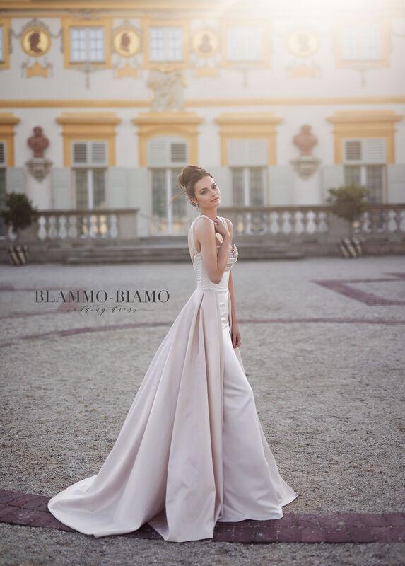 Свадебное платье напрокат Blammo-Biamo Платье свадебное The Rice Lolis - фото 2