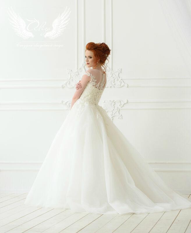 Свадебное платье напрокат ALIZA Платье свадебное «Leila» Ameli Benya - фото 2