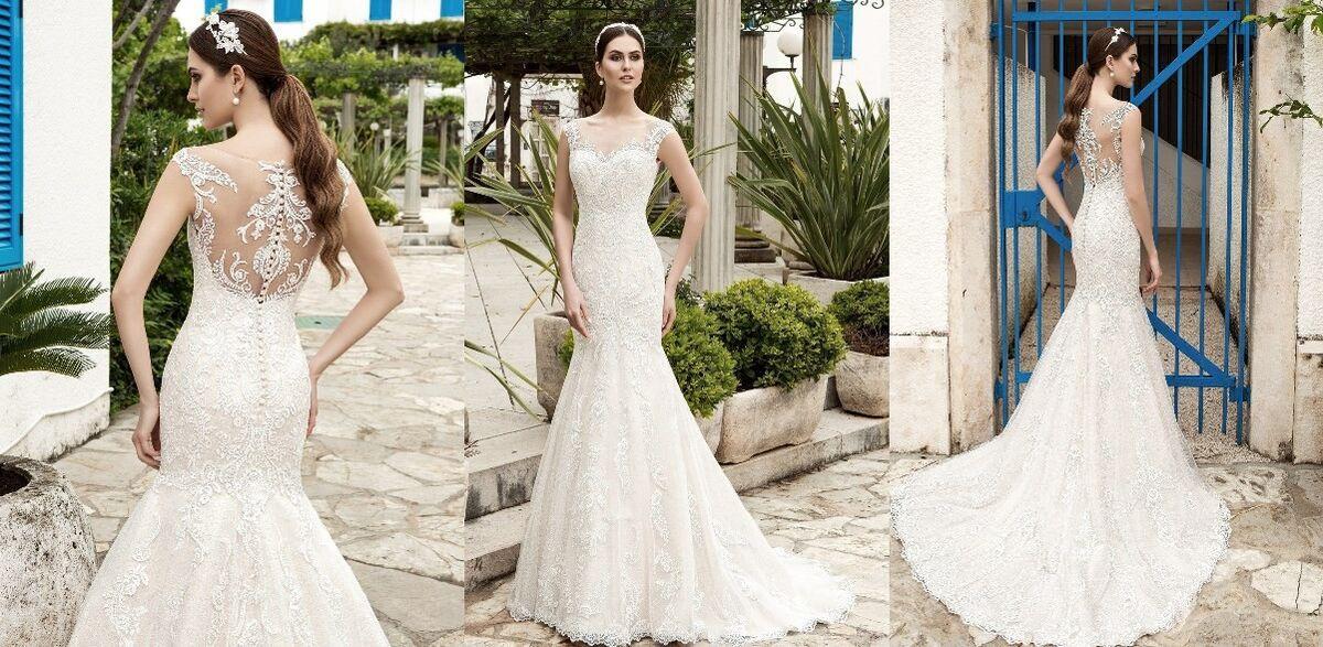 Свадебное платье напрокат Lussano Bridal Платье свадебное 15897 - фото 2