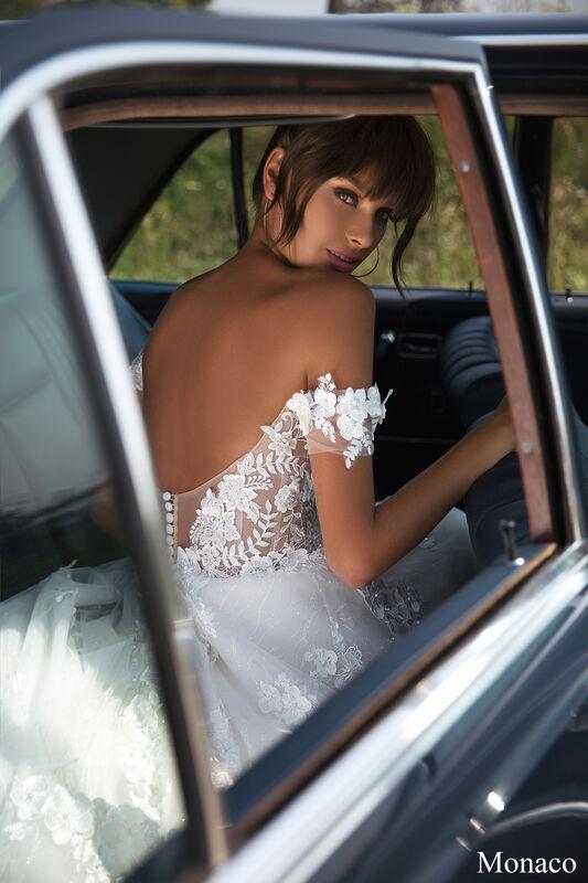 Свадебный салон Aivi Свадебное платье Monaco (New Collection) - фото 2