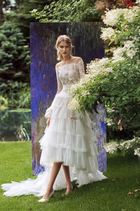 Свадебный салон Papilio Свадебное платье «Аржантей» модель 19/2011a - фото 1