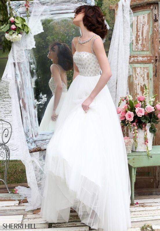Свадебное платье напрокат Sherri Hill Платье свадебное 50008 - фото 7