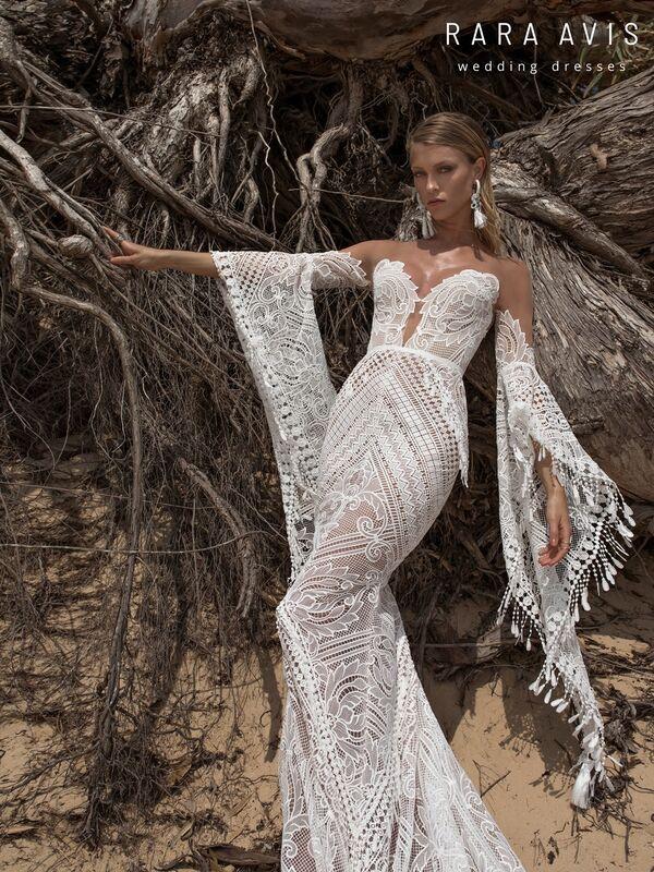 Свадебное платье напрокат Rara Avis Свадебное платье Wild Soul Lari - фото 4