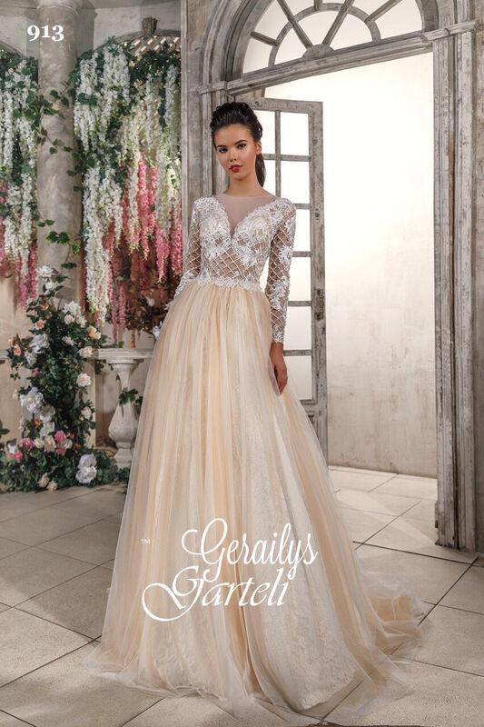 Свадебный салон Garteli Свадебное платье 913 - фото 1