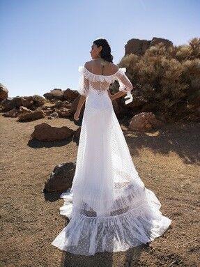 Свадебное платье напрокат Blammo-Biamo Свадебное платье Dream Ocean Gendzi - фото 2