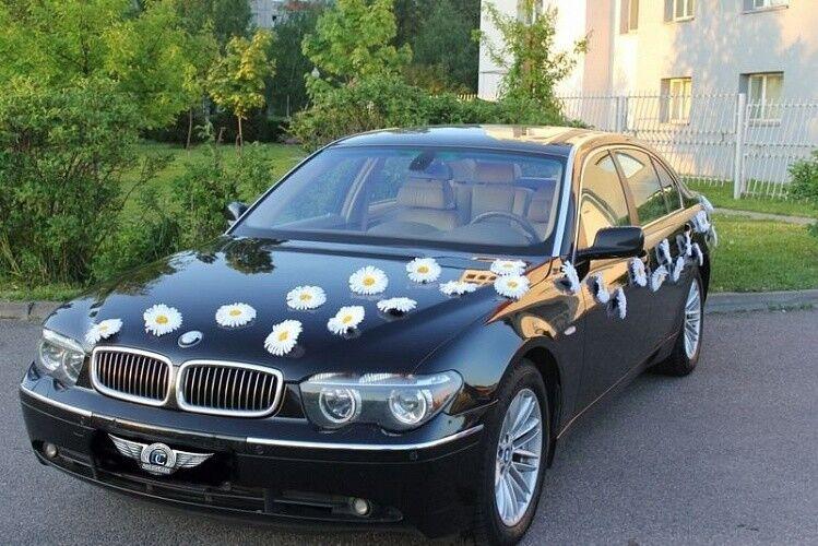 Прокат авто BMW E66 7 series черного цвета - фото 1
