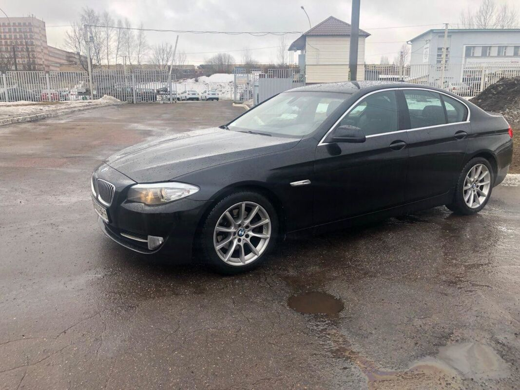 Прокат авто BMW 5 series F10 2010 г.в. - фото 3