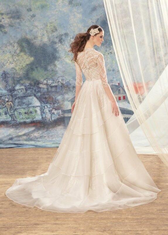 Свадебный салон Papilio Свадебное платье «Свиристель» 1720L - фото 2