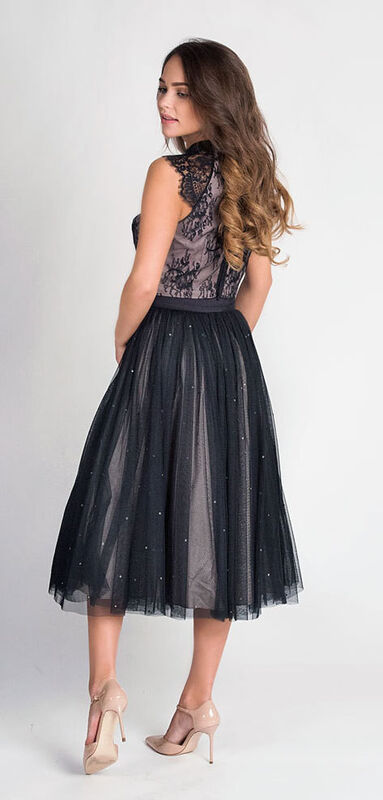 Вечернее платье Coast Кружевной топ и юбка 578 - фото 3