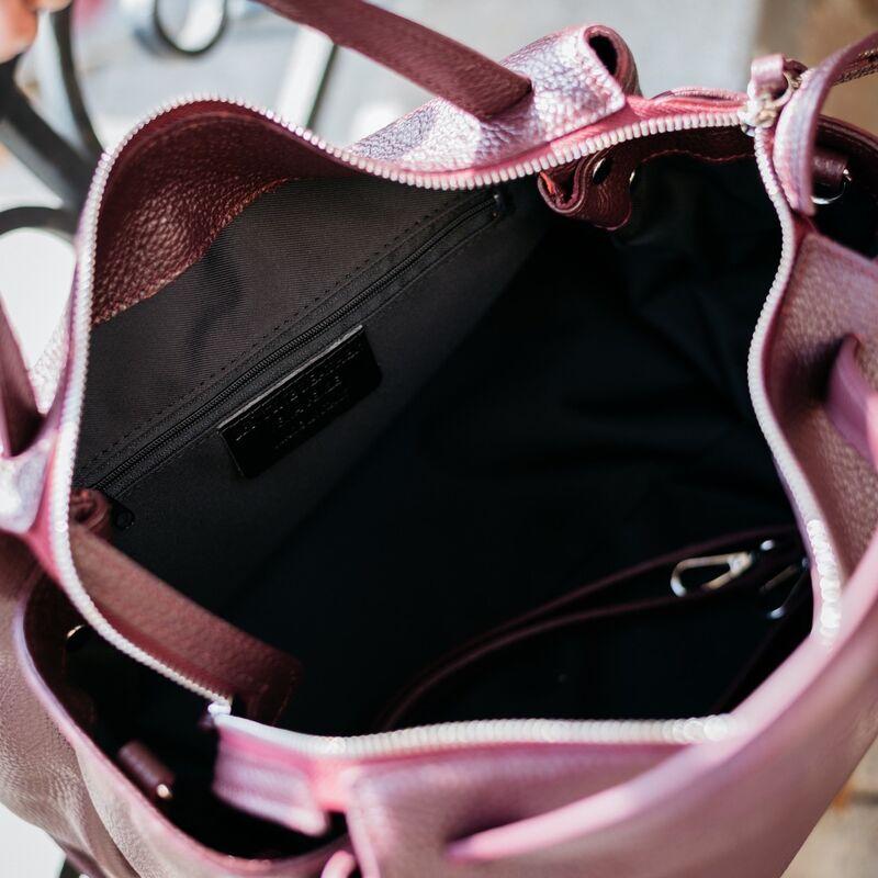 Магазин сумок Vezze Кожаная женская сумка C00534 - фото 3