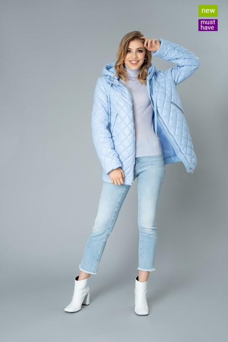 Верхняя одежда женская Elema Пальто женское плащевое утепленное 5-9439-1 - фото 1