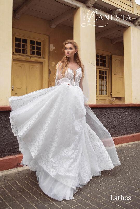 Свадебный салон Lanesta Свадебное платье Lathes - фото 1