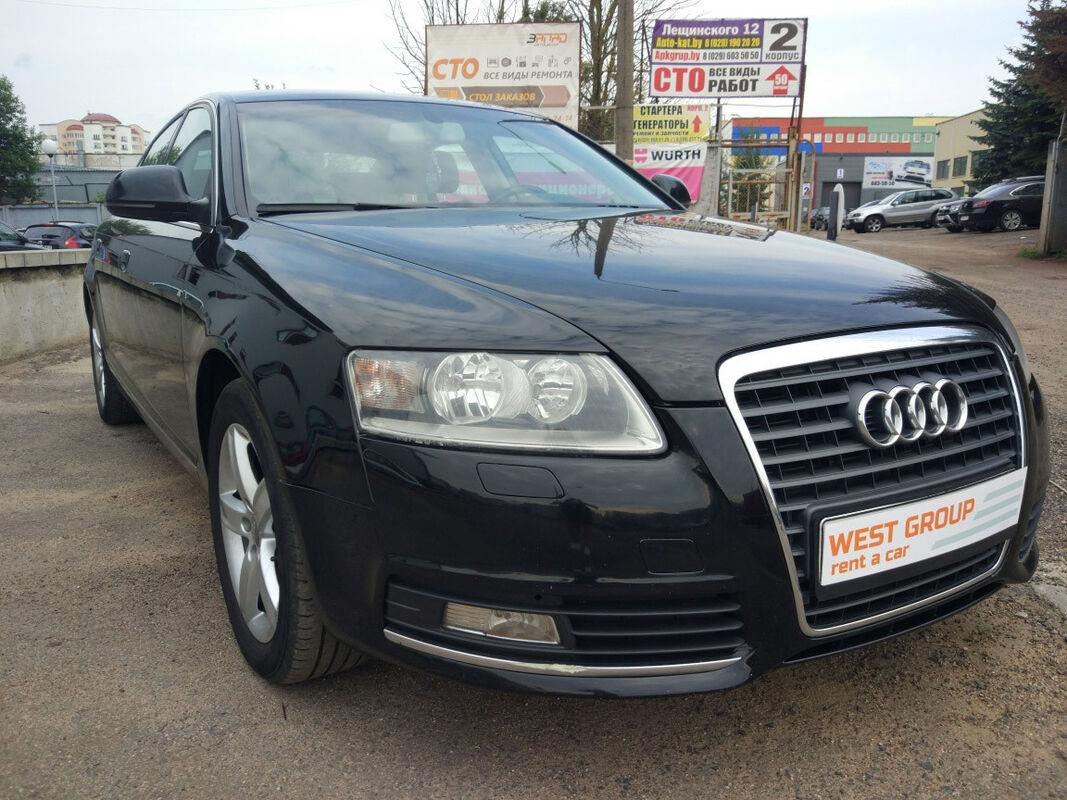 Прокат авто Audi A6 2009 - фото 2