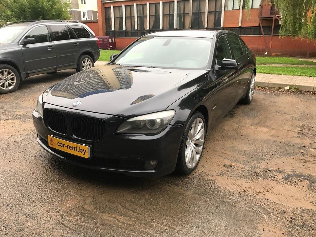 Прокат авто BMW 740 - фото 4