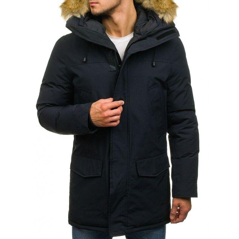 Верхняя одежда мужская Revolt Зимняя куртка - парка H06 - фото 1