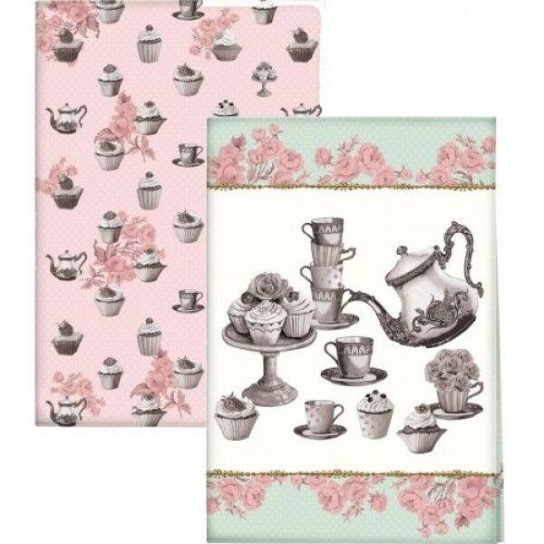 Подарок Creative Tops Комплект полотенец кухонных, серия «Cupcake Couture», TT3915 - фото 1
