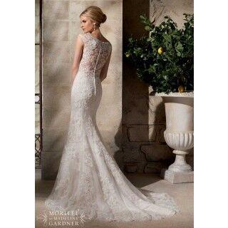 Свадебное платье напрокат Mori Lee Платье свадебное  2702 - фото 2