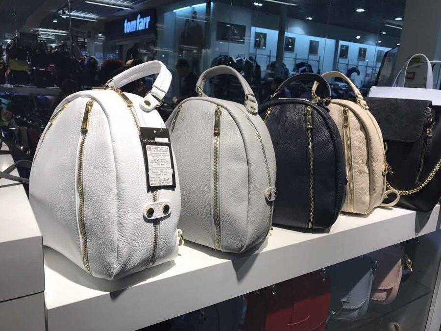 Магазин сумок Vezze Кожаный рюкзак C00182 - фото 3