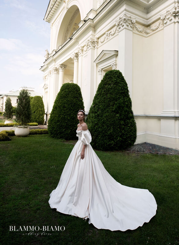 Свадебный салон Blammo-Biamo Свадебное платье The Rice  Medea - фото 2