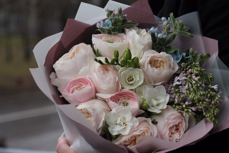 Магазин цветов Cvetok.by Букет «Прикосновение нежности» - фото 2