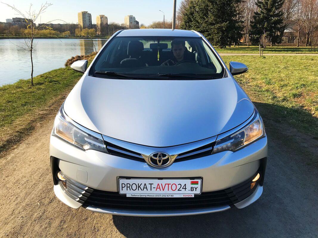 Прокат авто Toyota Corolla New 2017 - фото 3